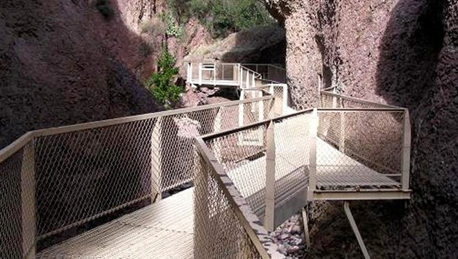 The Catwalk Trail in Glenwood Ranger District is undergoing restoration work and is expected to reopen in May.