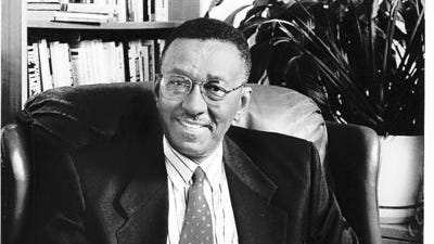 Syndicated columnist Walter Williams