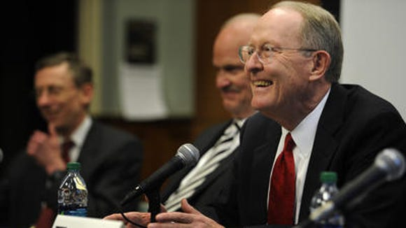 Lamar Alexander's campaign says he holds a big lead over his Republican challengers. (File Photo)