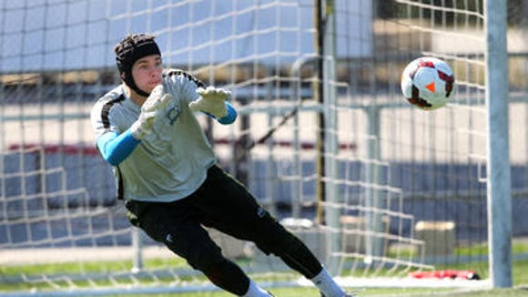 Rhinos goalkeeper John McCarthy led the USL PRO in shutouts with 10 and goals-against average at 0.72.