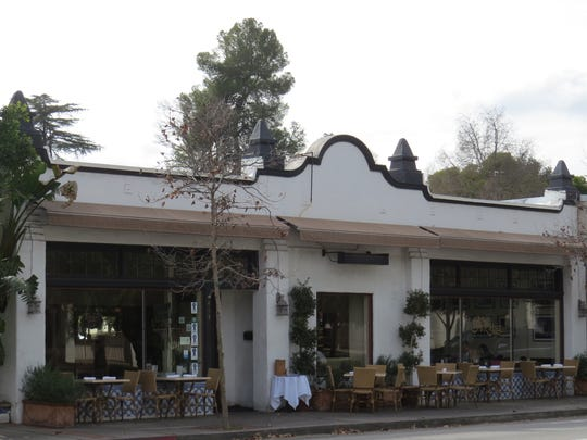 Azu Restaurant in Ojai is seen in a file photo taken when it offered indoor and outdoor seating. The business is currently open for takeout of food, cocktails and Ojai Valley Brewery beers.