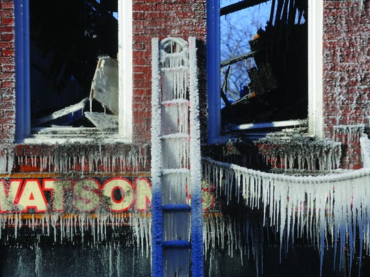 The Dec. 13, 2013, fire in downtown Ripon caused major damage and hindered economic development.