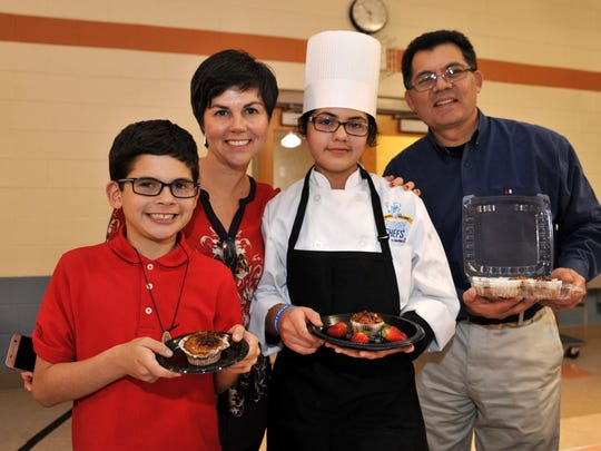 Future chef competition, hosted by Vineland schools food service provider Sodexo, Wednesday, Mar. 16, 2016.