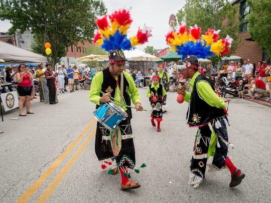 Danza Guadalupana de Maryland, a Baltimore-based dance