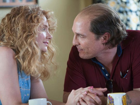 Bryce Dallas Howard and Matthew McConaughey in 'Gold.'