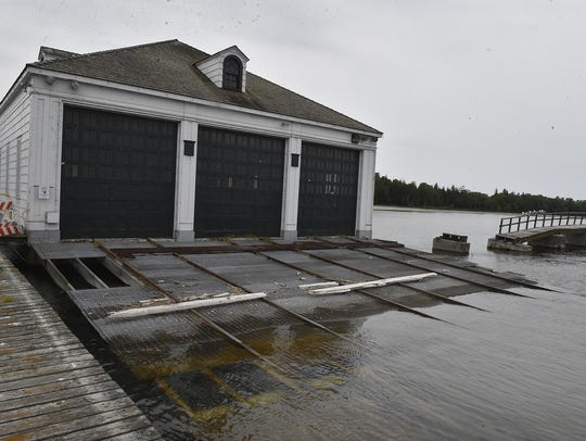 Plum Island's boathouse was built in 1939. To see more