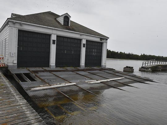 Plum Island's boathouse was built in 1939. To see more photos of the island, go to: www.doorcountyadvocate.com.