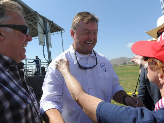 The 4th annual Basque Fry at the Corley Ranch in Gardnerville,
