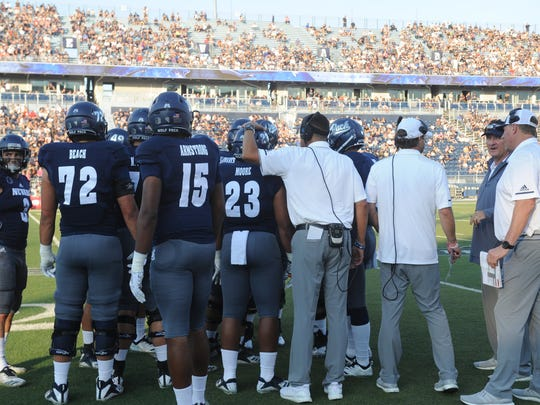 Nevada takes on Portland State during their football game at Mackay Stadium on Friday.