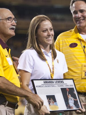 Amanda Levens, inducted into the ASU Sports Hall of Fame in 2012, is among the top young women's basketball head coaching candidates in the country.