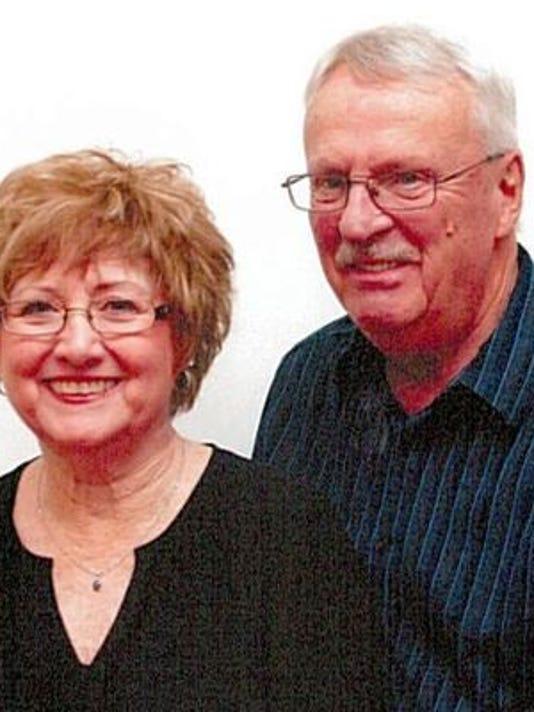 Anniversaries: Franklin L Cripe & Sue (Farrell) Cripe