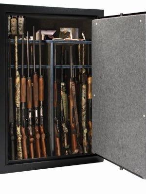 File photo of a gun safe.