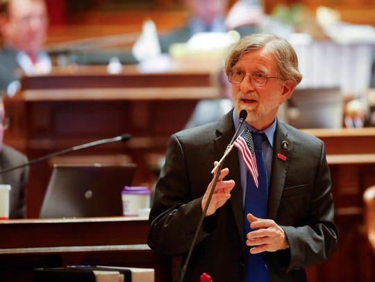 Iowa State Senator Herman Quirmbach debates SF 2383