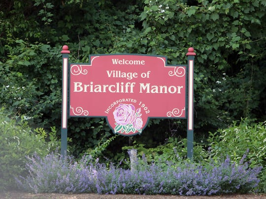 Village of Briarcliff Manor sign June 20, 2018.