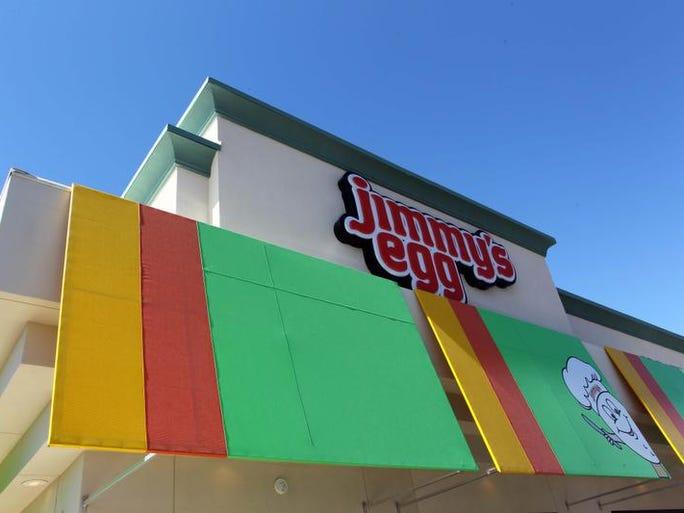 Jimmy's Egg opened last month on Battlefield Road near U.S. 65.