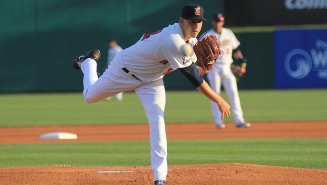 Brevard County Manatees pitcher Tyler Wagner will get the start tonight against the Daytona Cubs. Hawk-eye photography Brevard County starting pitcher Tyler Wagner