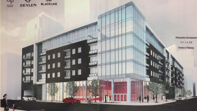 The Ardmore would include 124 apartments, 24,000-square-feet of retail space and an underground garage with 407 parking spaces.