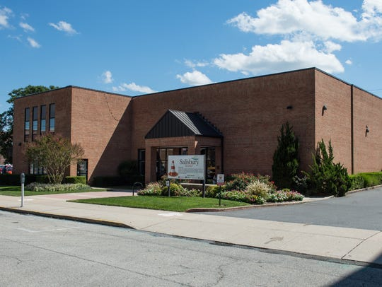 An exterior view of the Salisbury Area Chamber of Commerce
