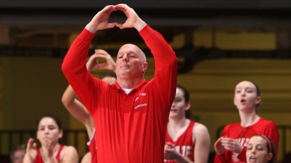 Tappan Zee girls basketball head coach Tom Cromer resigned