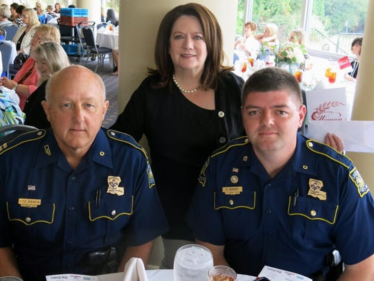 Louisiana State Police Cmdr. Steve Robinson, Margaret
