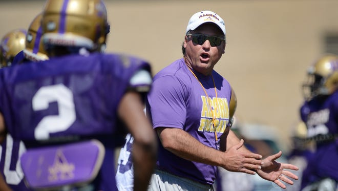 Alcorn State head coach Jay Hopson will try to make the most of the bye week after the Braves' 35-34 loss to Grambling on Saturday.