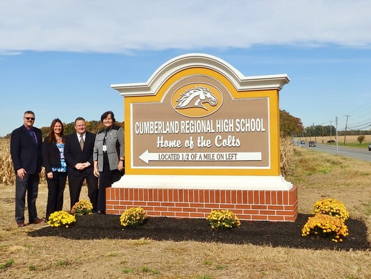 CRHS Monument Sign