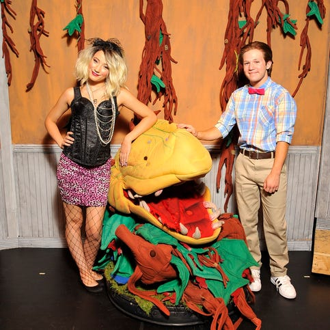 Macabre musical:  Tulare County Office of Education puts on 'The Little Shop of Horrors'