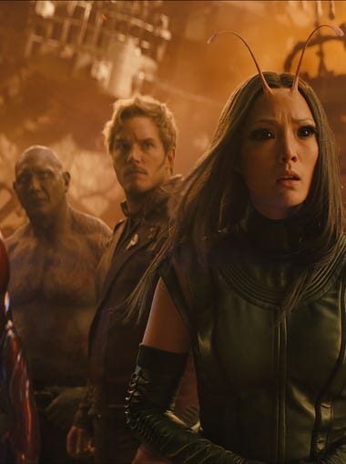 """Avengers: Infinity War"" will be in theaters April 27."