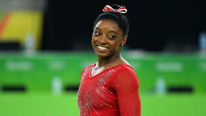 Simone Biles won the vault for her third gold medal of the Rio Olympics.