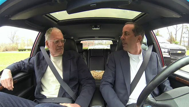 In season 2, Letterman let Seinfeld drive his 380 HP, super-charged V8 manual Volvo 960 wagon, which spec'd by Paul Newman.