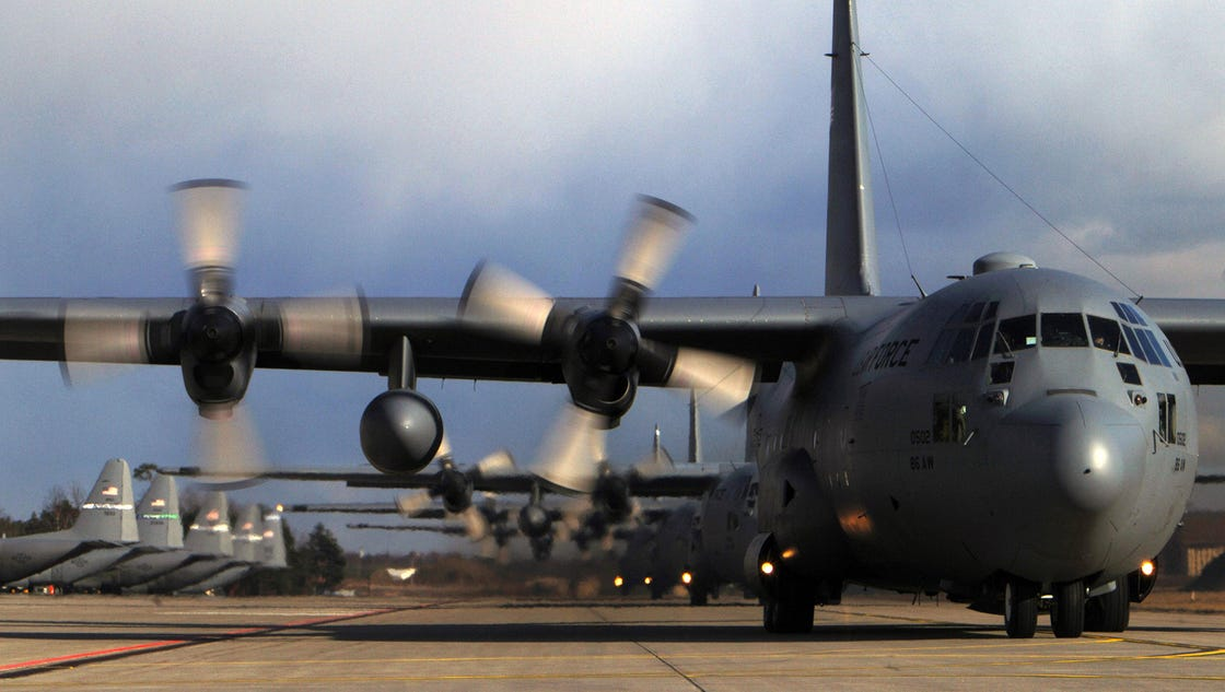 Air Force: U.S. cargo plane crash was not enemy action