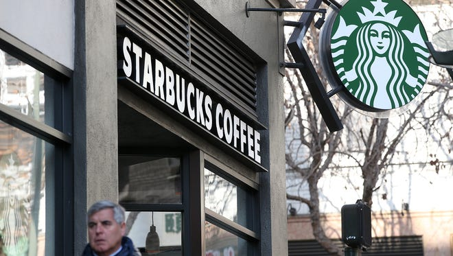 A computer glitch led some Starbucks locations to offer free tall-sized drinks on Friday, April 24, 2015.