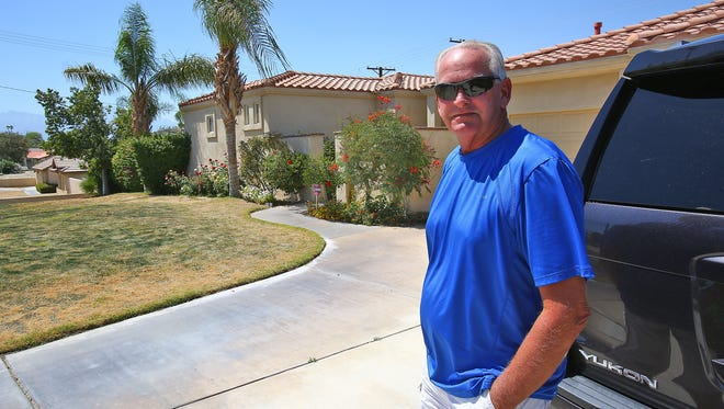 Kent Knobelauch is opposed to being forced to pay for a golf membership at Bermuda Dunes Country Club where he owns a home, May 10, 2016.