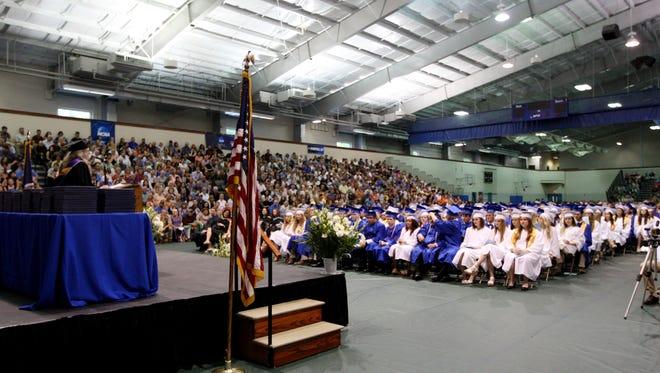 Fort Defiance High School held its commencement ceremony at Eastern Mennonite University in Harrisonburg on Saturday, June 4, 2016.