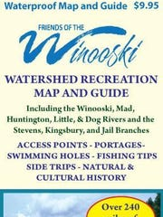 Friends of the Winooski River map and guide.