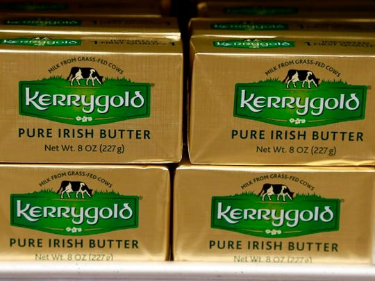 Kerrygold butter has been in the news. It's basic ingredient is produced by Irish cows.