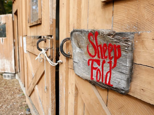 The Sheep barn at The Fellowship Community in Chestnut Ridge.
