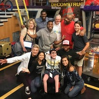 Wish granted: Greenville child with Spina bifida meets cast of favorite TV show