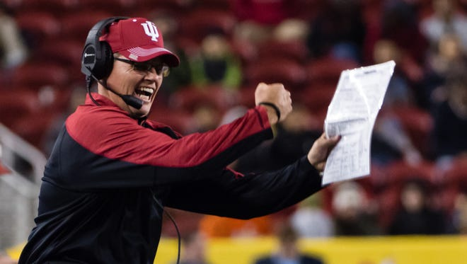 Tom Allen coached in a bowl game last season. Will he again this year?