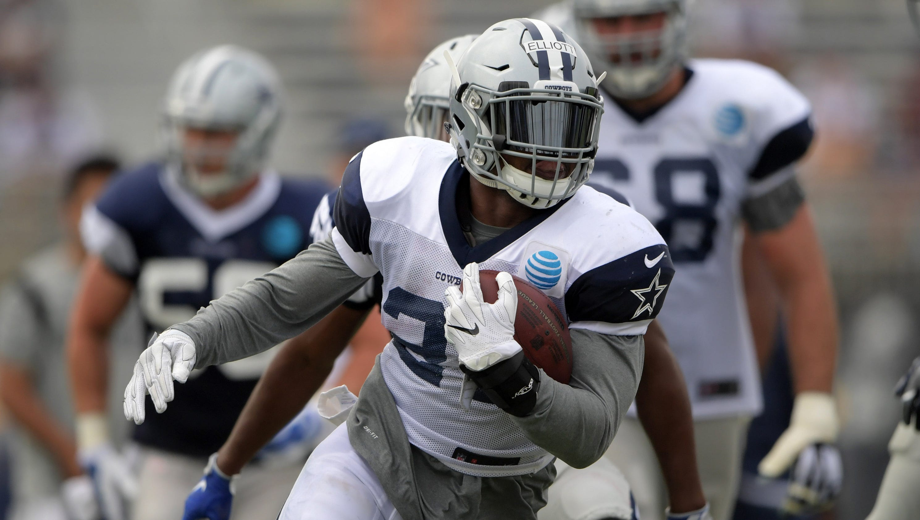 Cowboys RB Ezekiel Elliott not commenting on domestic violence allegation