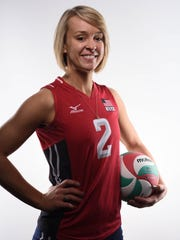 Kayla Banwarth, Dubuque, volleyball. Banwarth attended Dubuque Wahlert High School, where she graduated in 2007. She played at Nebraska 2007-10. She's been a member of the U.S. national team since 2014.