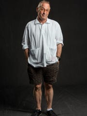 David Sedaris in shorts, not culottes, in New York