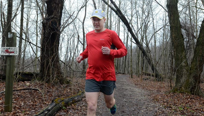 Milford resident DJ Denton is organizing the upcoming River's Edge Highland Loops Trail Run to benefit Team Huron Valley and the Motor City Mountain Biking Association.