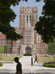 The University of Tennessee campus