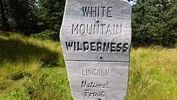 The White Mountain Wilderness is northwest of Ruidoso.