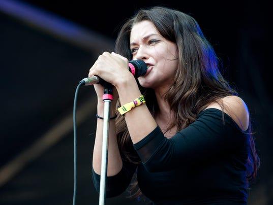 Meg Myers at Lollapalooza