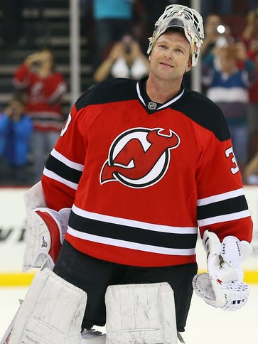Martin Brodeur, formerly with the New Jersey Devils,