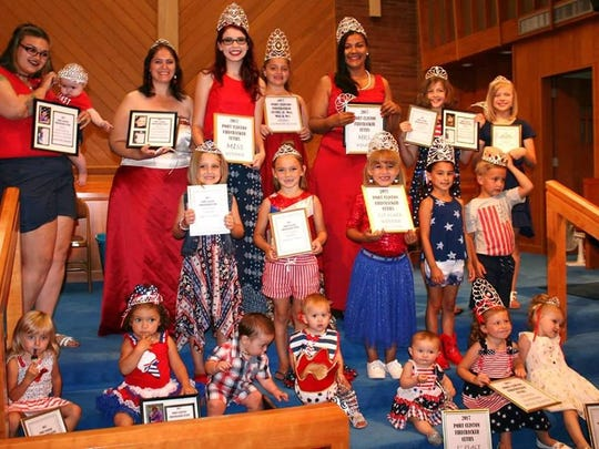 Winners from the 2017 Firecracker Cuties and other