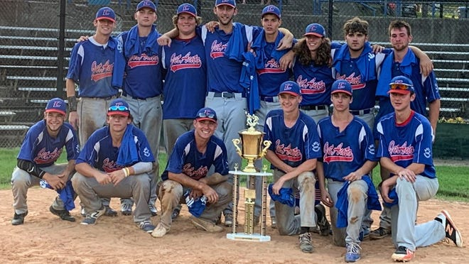 The Cambridge JET Auto - Carr Antil Insurance Seniors are the 2020 champions of the 28th annual Don Coss Baseball Tournament.