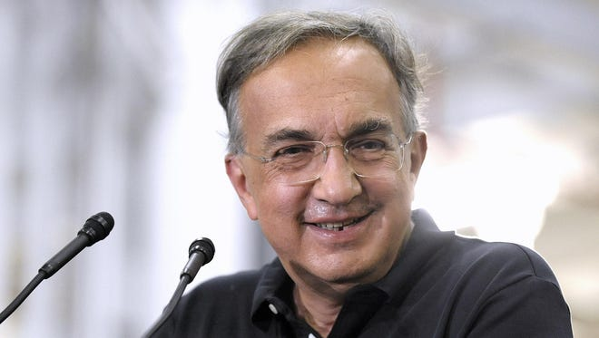 Former FCA CEO Sergio Marchionne died July 25, 2018.